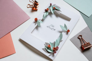 DIY, Paperart, Klappkarte, Papeterie, Papercraft, Do it yourself