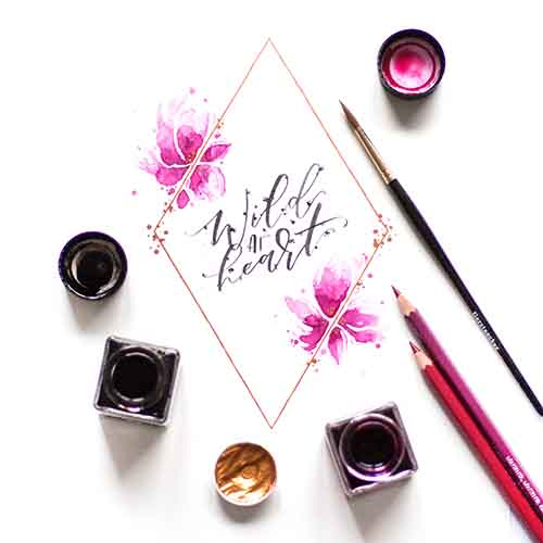 Lettering-Illustration-Aquarell-Watercolor-Handlettering-Brushlettering