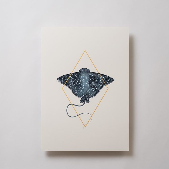 Stingray Fine Art Print